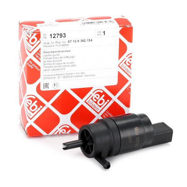 Windscreen Washer Pump FEBI BILSTEIN 12793 expert knowledge