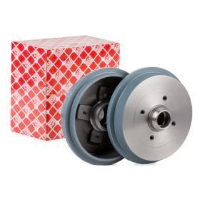 Bremstrommel mit OEM-Nummer 1H0501615A