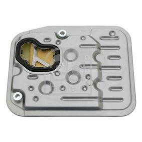 FEBI BILSTEIN Hydraulikfilter, Automatikgetriebe 14258 für AUDI 100 (44, 44Q, C3) 1.8 ab Baujahr 02.1986, 88 PS