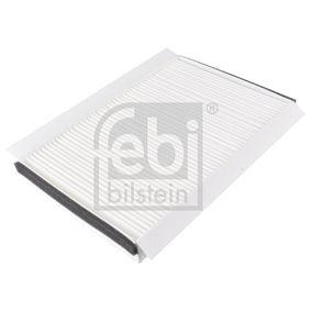 FEBI BILSTEIN  14749 Filter, Innenraumluft Länge: 258mm, Breite: 168,0mm, Höhe: 33mm