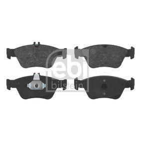 Bremsbelagsatz, Scheibenbremse Breite: 60,0mm, 66,3mm, Dicke/Stärke 1: 19,5mm mit OEM-Nummer A 002 420 4420