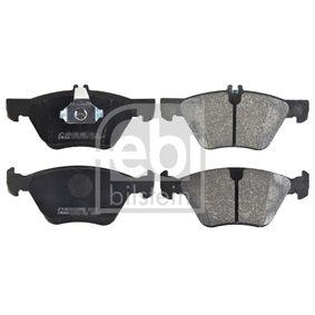 Bremsbelagsatz, Scheibenbremse Breite: 69,5mm, 63,6mm, Dicke/Stärke 1: 19,2mm mit OEM-Nummer 004 420 0320