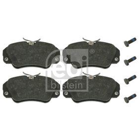 Bremsbelagsatz, Scheibenbremse Breite: 63,8mm, Dicke/Stärke 1: 19mm mit OEM-Nummer 16 05 004