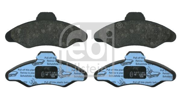 FEBI BILSTEIN  16038 Bremsbelagsatz, Scheibenbremse Breite: 57,5mm, Dicke/Stärke 1: 18,6mm