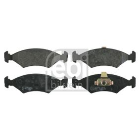 Bremsbelagsatz, Scheibenbremse Breite: 46,4mm, Dicke/Stärke 1: 18mm mit OEM-Nummer 1010503