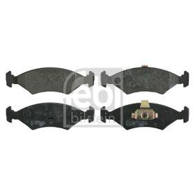 FEBI BILSTEIN  16040 Bremsbelagsatz, Scheibenbremse Breite: 46,4mm, Dicke/Stärke 1: 18mm