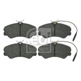 FEBI BILSTEIN  16049 Bremsbelagsatz, Scheibenbremse Breite: 71,6mm, Dicke/Stärke 1: 19,5mm