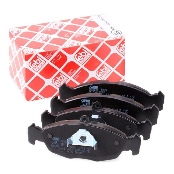 Комплект спирачно феродо, дискови спирачки FEBI BILSTEIN 16055 експертни познания