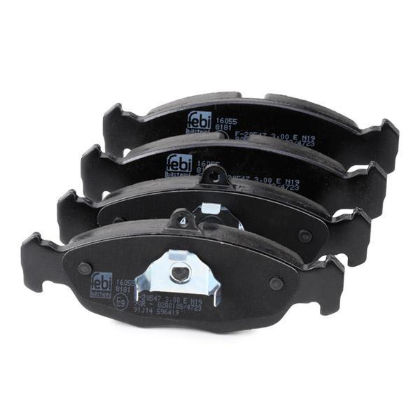 Комплект спирачно феродо, дискови спирачки FEBI BILSTEIN 21311 4027816160557