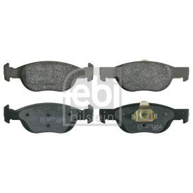 Brake Pad Set, disc brake 16093 PUNTO (188) 1.2 16V 80 MY 2004