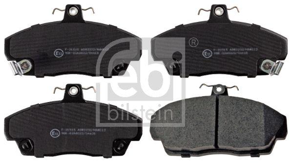 FEBI BILSTEIN  16114 Brake Pad Set, disc brake Width: 68,5mm, Thickness 1: 16,9mm