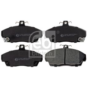Brake Pad Set, disc brake Width: 68,5mm, Thickness 1: 16,9mm with OEM Number 45022-SK3-E00