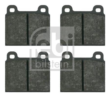 FEBI BILSTEIN  16134 Bremsbelagsatz, Scheibenbremse Breite: 70,0mm, Dicke/Stärke 1: 15mm