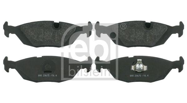 FEBI BILSTEIN  16141 Bremsbelagsatz, Scheibenbremse Breite: 37,7mm, Dicke/Stärke 1: 16,4mm