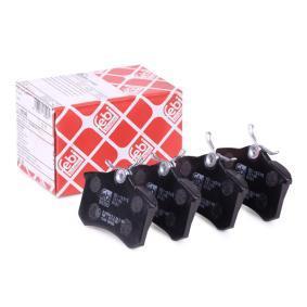 Bremsbelagsatz, Scheibenbremse Breite: 52,9mm, Dicke/Stärke 1: 15mm mit OEM-Nummer 20961