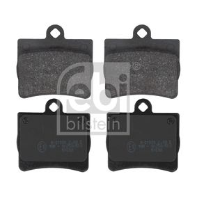 Bremsbelagsatz, Scheibenbremse Breite: 63,4mm, Dicke/Stärke 1: 15,5mm mit OEM-Nummer A0024205120