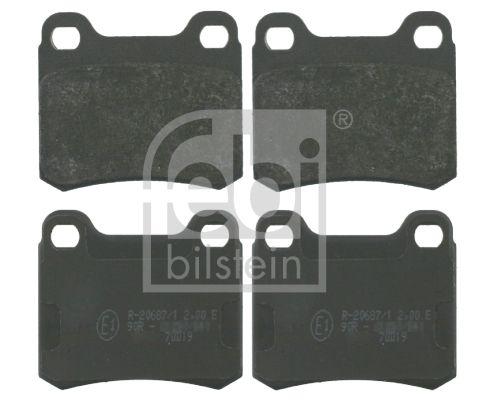 FEBI BILSTEIN  16156 Bremsbelagsatz, Scheibenbremse Breite: 54,3mm, Dicke/Stärke 1: 13,5mm