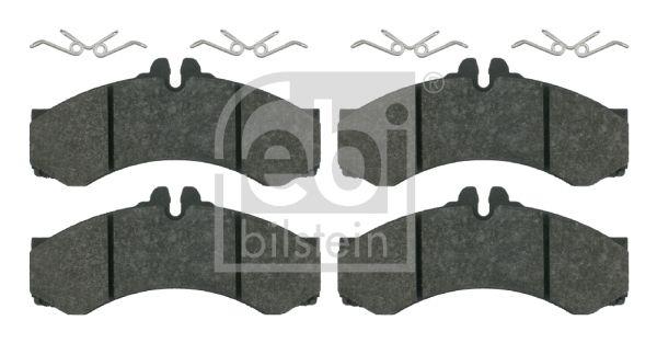 FEBI BILSTEIN  16164 Bremsbelagsatz, Scheibenbremse Breite: 73,0mm, Dicke/Stärke 1: 20mm