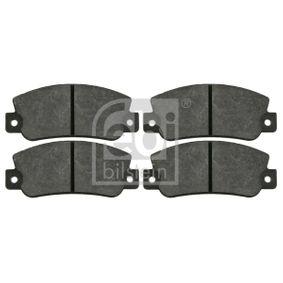 Bremsbelagsatz, Scheibenbremse Breite: 47,0mm, Dicke/Stärke 1: 12mm mit OEM-Nummer 5892729