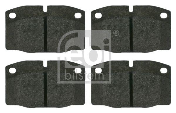 FEBI BILSTEIN  16203 Bremsbelagsatz, Scheibenbremse Breite: 59,0mm, Dicke/Stärke 1: 15,5mm
