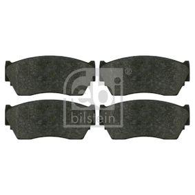 Bremsbelagsatz, Scheibenbremse Breite: 48,0mm, Dicke/Stärke 1: 16,5mm mit OEM-Nummer 4106062C90