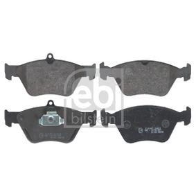 Bremsbelagsatz, Scheibenbremse Breite: 60,8mm, 70,6mm, Dicke/Stärke 1: 17,2mm, 18mm mit OEM-Nummer 04648457