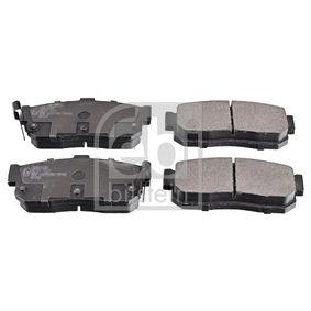 Bremsbelagsatz, Scheibenbremse Breite: 46,7mm, Dicke/Stärke 1: 16,3mm mit OEM-Nummer 44060-4U090