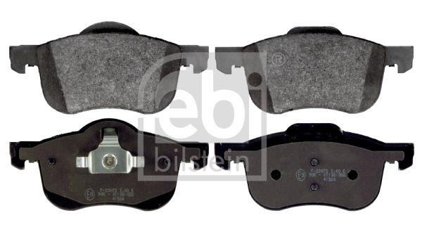 FEBI BILSTEIN  16359 Brake Pad Set, disc brake Width: 69,0, 72,5mm, Thickness 1: 18,5mm