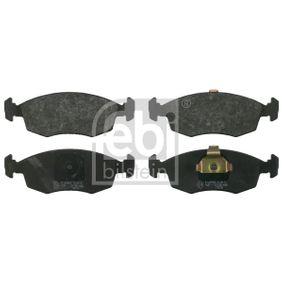 Bremsbelagsatz, Scheibenbremse Breite: 52,5mm, Dicke/Stärke 1: 17,8mm mit OEM-Nummer 994 8131