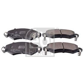Bremsbelagsatz, Scheibenbremse Breite: 44,4mm, Dicke/Stärke 1: 15mm mit OEM-Nummer 4 704 578