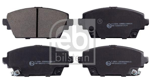 FEBI BILSTEIN  16389 Bremsbelagsatz, Scheibenbremse Breite: 58,5mm, Dicke/Stärke 1: 16,8mm
