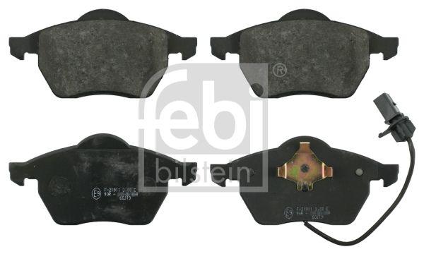 FEBI BILSTEIN  16398 Bremsbelagsatz, Scheibenbremse Breite: 74,2mm, Dicke/Stärke 1: 19,5, 20,3mm