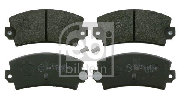 FEBI BILSTEIN  16407 Bremsbelagsatz, Scheibenbremse Breite: 49,6mm, Dicke/Stärke 1: 14mm