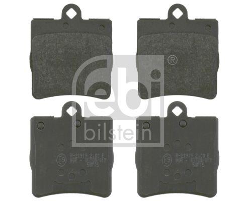 FEBI BILSTEIN  16474 Bremsbelagsatz, Scheibenbremse Breite: 72,9mm, Dicke/Stärke 1: 14,5mm