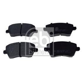 Bremsbelagsatz, Scheibenbremse Breite: 52,4mm, Dicke/Stärke 1: 17,4mm mit OEM-Nummer 41060 AX625