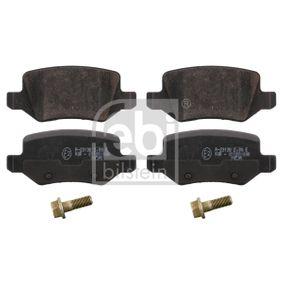 Brake Pad Set, disc brake 16525 A-Class (W169) A 170 1.7 (169.032, 169.332) MY 2006