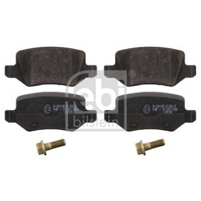 Brake Pad Set, disc brake Width: 41,5mm, Thickness 1: 14,3mm with OEM Number A 168 420 0420