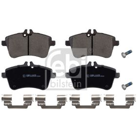 Brake Pad Set, disc brake Width: 69,5mm, Thickness 1: 19,6mm with OEM Number A169 420 0120