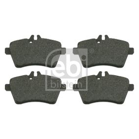 Brake Pad Set, disc brake Width: 64,0mm, Thickness 1: 18,8mm with OEM Number 169 420 1320
