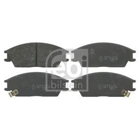 Bremsbelagsatz, Scheibenbremse Breite: 49,0mm, Dicke/Stärke 1: 14,8mm mit OEM-Nummer 5810124B00