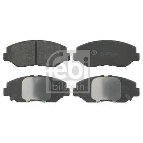 2005 Honda CR-V Mk2 2.0 Brake Pad Set, disc brake 16552