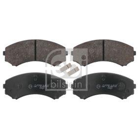 Brake Pad Set, disc brake Article № 16582 £ 150,00