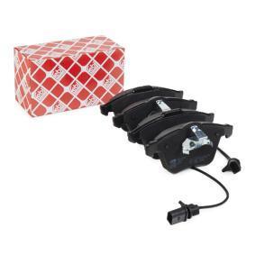 Bremsbelagsatz, Scheibenbremse Breite: 72,9mm, Dicke/Stärke 1: 20mm mit OEM-Nummer 4F0698151B
