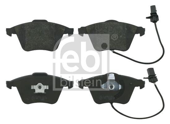 FEBI BILSTEIN  16586 Bremsbelagsatz, Scheibenbremse Breite: 72,9mm, Dicke/Stärke 1: 20mm