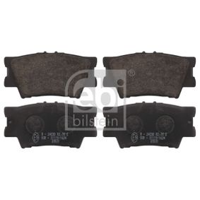 Bremsbelagsatz, Scheibenbremse Breite: 49,2mm, Dicke/Stärke 1: 15,5mm mit OEM-Nummer 04466-06090