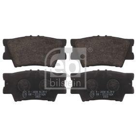FEBI BILSTEIN  16651 Bremsbelagsatz, Scheibenbremse Breite: 49,2mm, Dicke/Stärke 1: 15,5mm