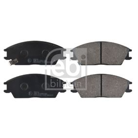 Bremsbelagsatz, Scheibenbremse Breite: 49,0mm, Dicke/Stärke 1: 14,5mm mit OEM-Nummer 58101-24A00