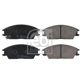 Bremsbelagsatz, Scheibenbremse Breite: 49,0mm, Dicke/Stärke 1: 14,5mm mit OEM-Nummer 5810122A00