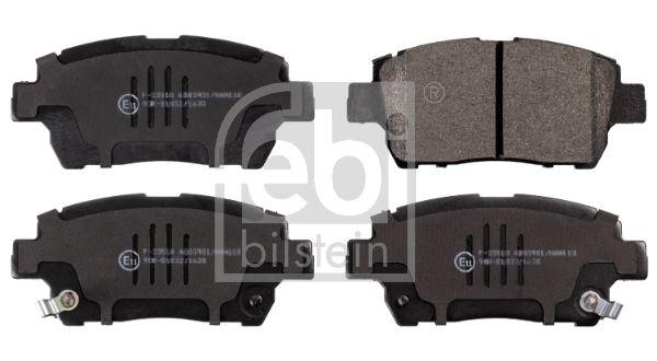 FEBI BILSTEIN  16725 Bremsbelagsatz, Scheibenbremse Breite: 50,9mm, Dicke/Stärke 1: 15,8mm