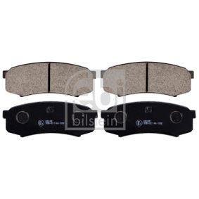 Bremsbelagsatz, Scheibenbremse Breite: 44,0mm, Dicke/Stärke 1: 16mm mit OEM-Nummer 04492-60020